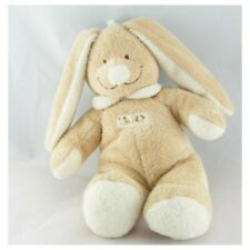 Doudou musical lapin beige blanc NICOTOY - Lapin