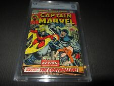 Captain Marvel 30 CBCS 7.5 VF- (like CGC) Thanos, Drax by Jim Starlin