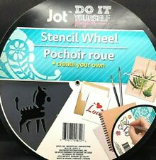 Animal Stencil Wheel Painting Drawing Templates Student Plastic 2½ in / 4in  New