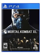 Mortal Kombat XL - PlayStation 4 Ps4 Games Video Games ORIGINAL New Sony Game