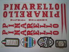 Pinarello Treviso Italia Sticker  Red & Silver.