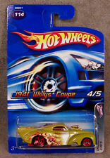 HOT WHEELS ~ CRAZED CLOWNS ~ 1941 WILLYS COUPE ~ GREEN