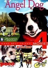Angel Dog/My Dog Shep/George/Paco NEW DVD 4 Man's Best Friend Movies!