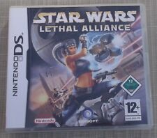 Nintendo Ds Jeu Star Wars Lethal Alliance