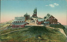 Ansichtskarte Riesengebirge Schneekoppe vom Flugzeug aus  (Nr.9404)