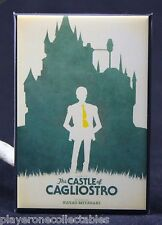 """The Castle of Cagliostro Movie Poster 2"""" X 3"""" Fridge Magnet. Lupin the Third"""