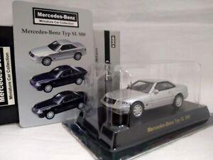 KYOSHO 1/64 Mercedes-Benz Typ SL 500 Silver Diecast Model Car F/Shipping F/Japan