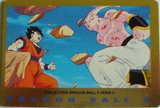 CARTE DRAGON BALL Z SERIE 3 N° 45 SUPER BOU ET SANGOHAN  VERSION FRANCAISE
