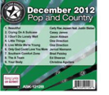 All Star Pop & Country December 2012 Ask 1212 B