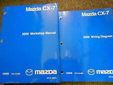 2009 Mazda CX7 CX-7 Service Shop Repair Workshop Manual Set FACTORY OEM W EWD