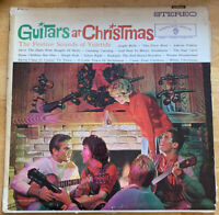 USED! Guitars At Christmas LP Vinyl Record-G