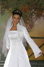 Bolero Brautjacke Jacke Glassteinchen Strass Hochzeit
