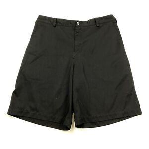 Nike Golf Dri-Fit Men's Black Short Sz 34