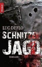 Schnitzeljagd: Thriller von Deflo, Luc   Buch   Zustand gut