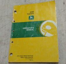 John Deere 6405 tractor operator manual