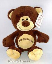 "9"" HERSHEYPARK Teddy Bear 2006 Stuffed Plush HERSHEY CHOCOLATE by Fiesta"