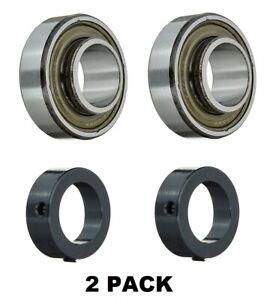 "RA100RR CSA205-16 1"" ID Bearing Locking Collar 1""x52mm JD8597 Exmark 513016 2PK"