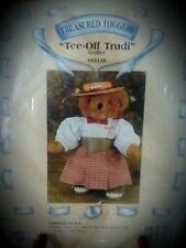 """Treasured Toggery """"Tee-Off Trudy Golfer"""" 12"""" Bear or Doll 11 piece Outfit Nb"""