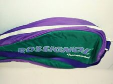 "Rossignol Tournament Tennis Racquet Padded Carry Case 28"" w/ Shoulder Strap"