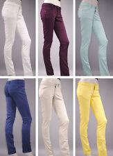 Gerades-Bein Damen-Hosen im Chinos-Stil mit Baumwolle
