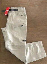 The North Face Mens Paramount Trail Convertible Pant Medium Regular New Tan