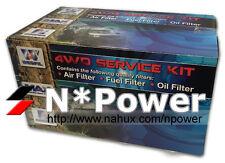 WESFIL 4WD AIR OIL FUEL FILTER SERVICE KIT FOR NISSAN PATROL GQ TB42E 4.2L 92-97