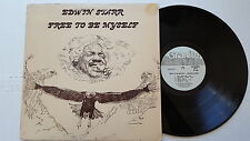 EDWIN STARR - Free To Be Myself 1975 FUNK BLACK GOSPEL SOUL Granite Records (LP)