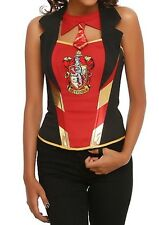 Harry Potter Costume Gryffindor Corset Costume Cosplay Size L/X