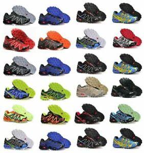 Salomon Speedcross 3 Herren Outdoorschuhe Laufschuhe Cross Schuhe Hikingschuhe A