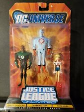 DC Universe JLU Justice League Unlimited Green Lantern Captain Atom SuperGirl