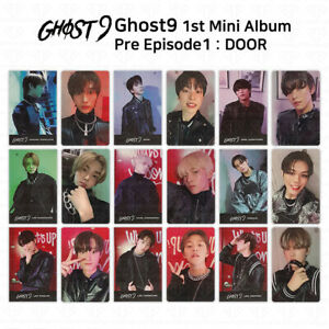 Ghost9 1st Mini Album Pre Episode 1 Door Photocard Storytelling Photocard KPOP
