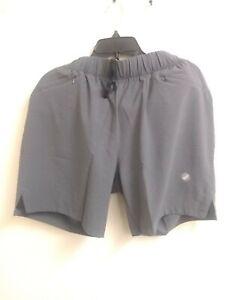 Asics Men's Short 2in1 Performance Grey Size Large