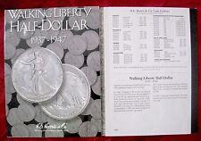 INCOMPLETE SET OF WALKING LIBERTY HALF-DOLLAR 1937-1947 SILVER COLLECTION COIN