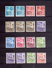 FRANCE 1954 & 1960 precancels selection no gum
