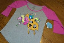 Size M Adventure Time Finn Jake Pajama Top Lady Rainicorn Princess Bubblegum