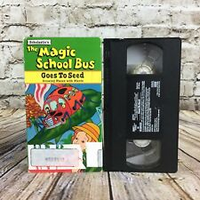 Scholastic's The Magic School Bus Goes To Seed VHS Cassette Tape