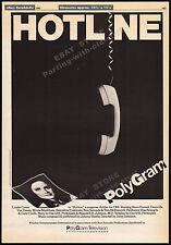 HOTLINE__Original 1982 Trade Print AD / TV movie promo / poster__LYNDA CARTER