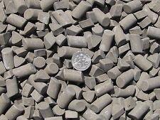 """Ceramic Tumbling Media 1 Lbs. 3/8"""" X 5/8"""" Cylinder & 3/8"""" X 1/4"""" Triangle (Df) d"""