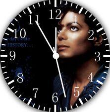 Michael Jackson Frameless Borderless Wall Clock Nice For Gifts or Decor X65