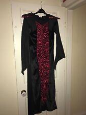 Wilko Girls Vampire Halloween Costume Age 11-13