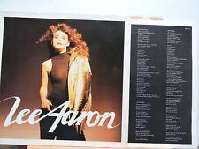 LEE Aaron + inner sleeve FREE UK POST