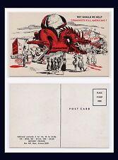 PATRIOTIC ANTI COMMUNIST RED DRAGON DEVOURING ASIA MOTHERS' CRUSADE CIRCA 1964