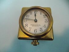 ORIGINAL RARE BOSTON CLOCK CO YACHT CLOCK Ca 1888-97 HEAVY BRASS EXCELLENT