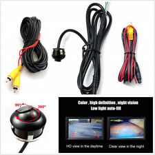 12V 360 Degree Car SUV Front Side View Reverse Backup HD CCD Camera Kit PAL/NTSC