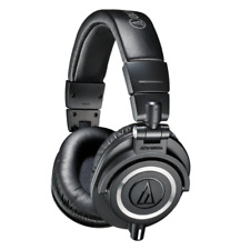 Audio Technica ATH-M50X Closed Back Pro Studio Monitor Headphones - Black