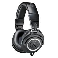 Audio Technica ATH-M50X Closed Back Pro Studio Monitor Headphones - Black