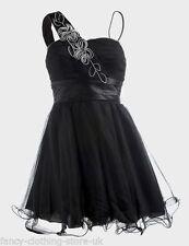 Little Black Polyester Cocktail Dresses for Women