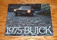 Original 1975 Buick Full Line Sales Brochure 75 Riviera LeSabre Electra