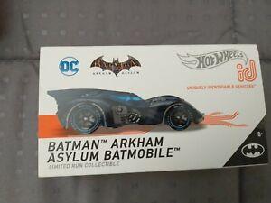 HOT WHEELS ID BATMAN ARKHAM ASYLUM BATMOBILE SERIES 2 LIMITED RUN COLLECTIBLE