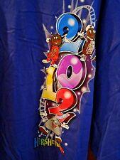 NWT - Port and Company - Hershey PA Park - T-Shirt - 2XL - Blue - Hershey Design